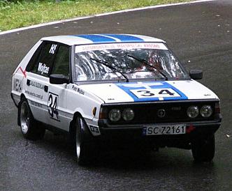 Polonez na torze - Górskie Samochodowe Mistrzostwa Polski